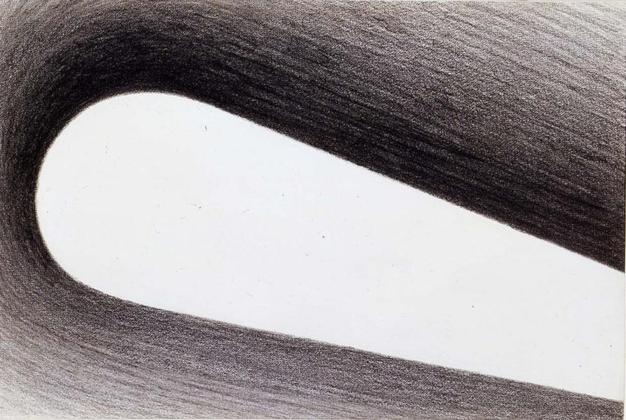 """Untitled, 1964 graphite on paper 8 1/4"""" x 12..."""
