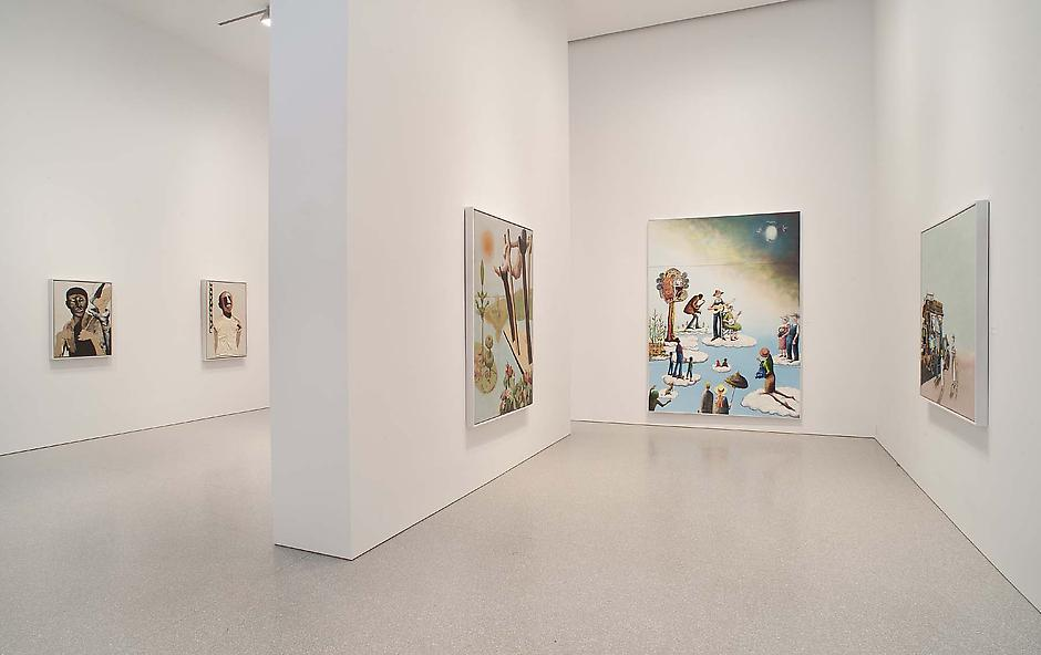 Installation Views - Benny Andrews: There Must Be a Heaven - March 19 – May 18, 2013 - Exhibitions