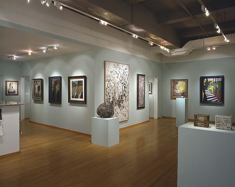 Installation Views - Michael Rosenfeld Gallery: The First Decade - May 11 – August 10, 2000 - Exhibitions