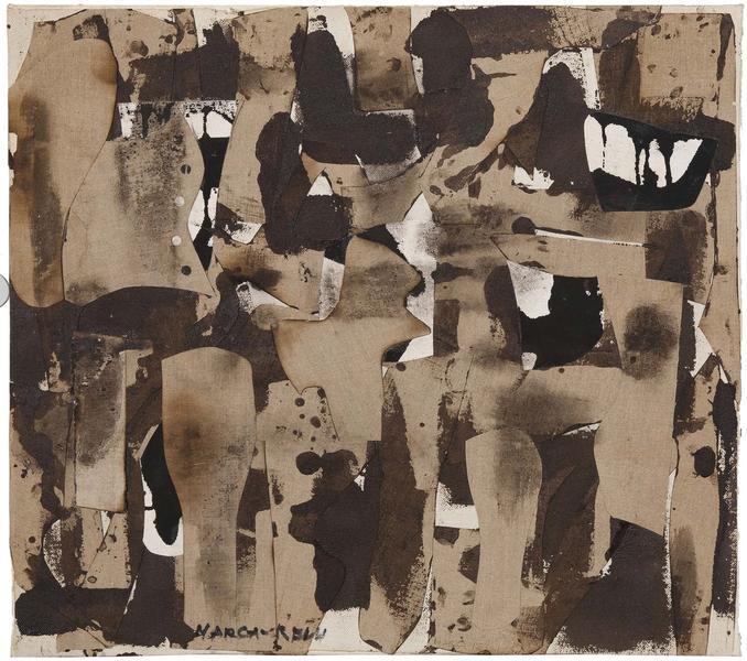 Conrad Marca-Relli (1913-2000) J-S-22-57, 1957 oil...