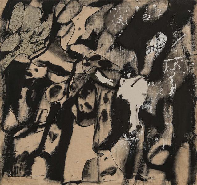 Conrad Marca-Relli (1913-2000) S-25-56, 1956 oil a...