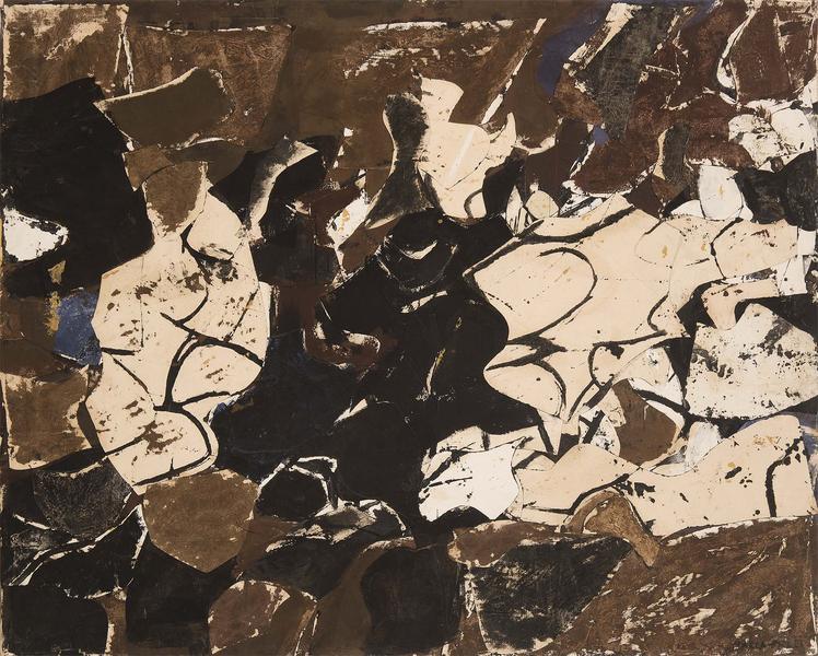 Conrad Marca-Relli (1913-2000) Terim (L-R-5-57), 1...