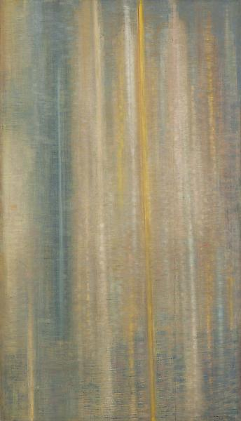 "Counterpoint, 1957 oil on canvas 72"" x 41 1/4"",&nb..."