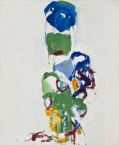 Joan Mitchell (1925-1992) Untitled, c.1967 oil on...