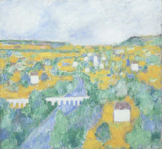 Provence No. 3 (Aqueduct Series), 1956 oil on canv...