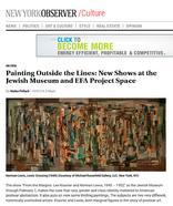 New York Observer, October 1, 2014