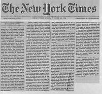 The New York Times, June 28,1996