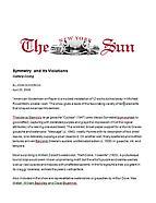 The New York Sun, April 20, 2006