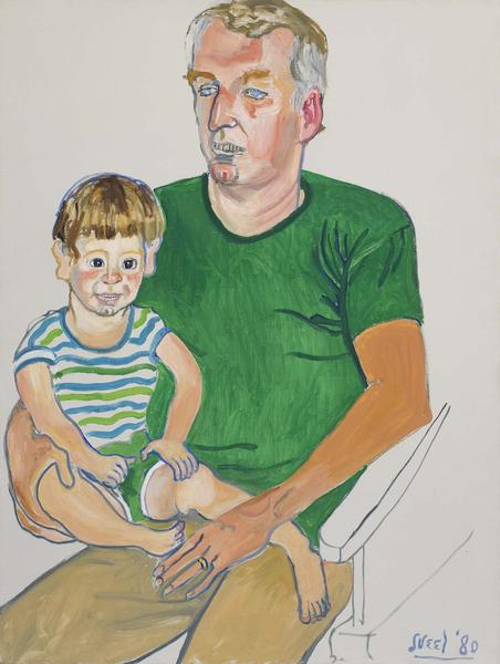 Alice Neel (1900-1984) Kevin and Andy, 1980 oil on...