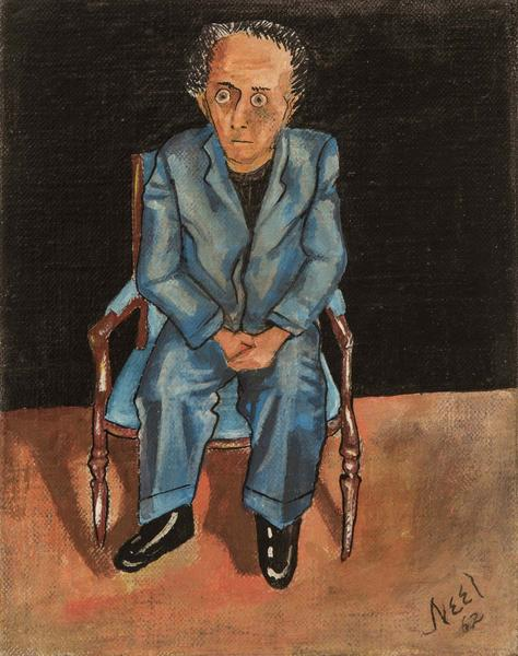 Alice Neel (1900-1984) Meyer Schapiro, 1962 oil an...