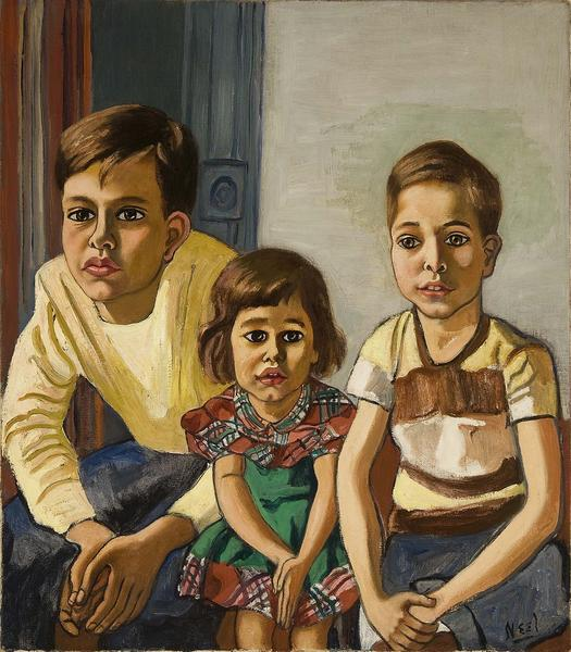 Alice Neel (1900-1984) Robert, Helen and Ed, c.195...
