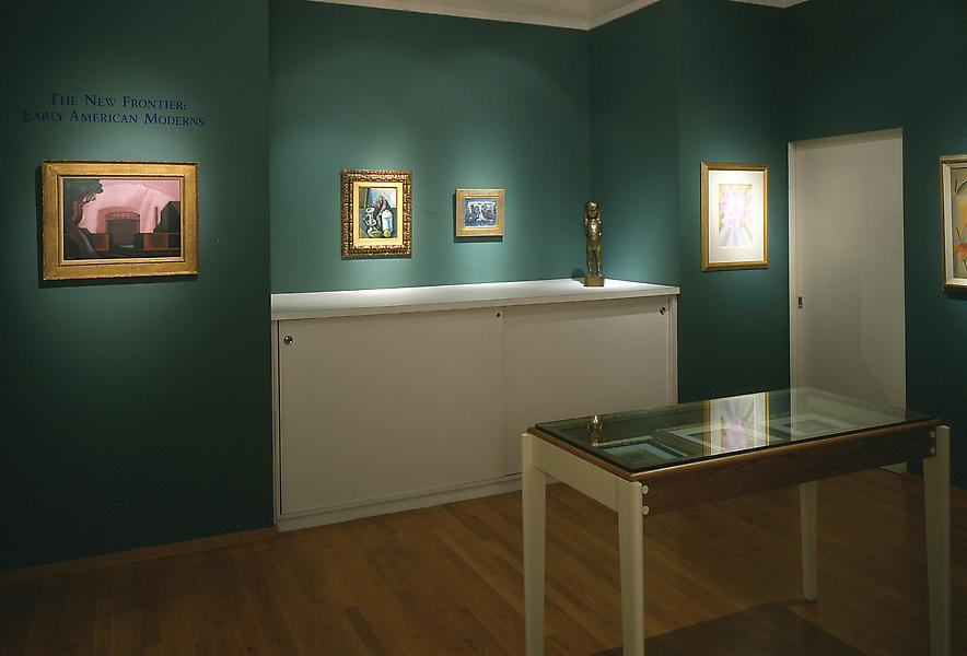 Installation Views - The New Frontier: Early American Moderns - November 13, 1997 – January 17, 1998 - Exhibitions