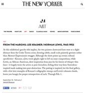 The New Yorker, September 2014
