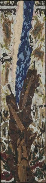 Alfonso Ossorio (1916-1990) Mirror-Point (No. 14),...