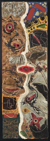 Alfonso Ossorio (1916-1990) The Kiss (#16), 1960 o...