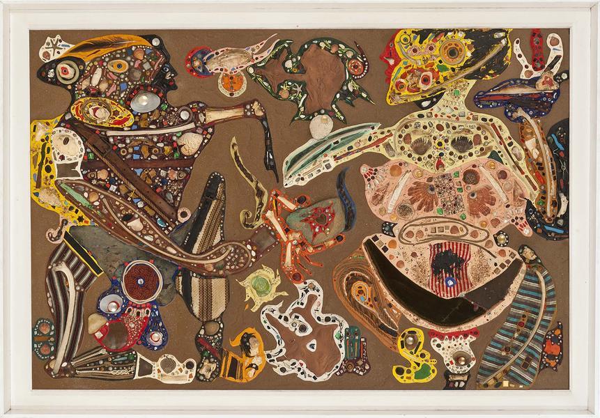 Alfonso Ossorio (1916-1990) Touch and Go, 1961 con...