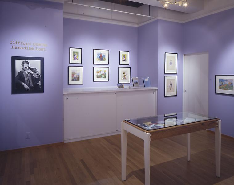 Installation Views - Clifford Odets: Paradise Lost - May 9 – June 29, 2002 - Exhibitions