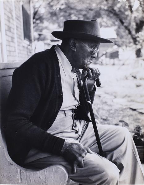 Gordon Parks (1912-2006) Uncle James Parks, 1950,...