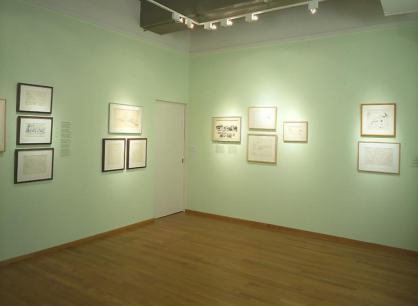 Installation Views - Fairfield Porter : Drawings and Poetry - June 8 – August 25, 1995 - Exhibitions