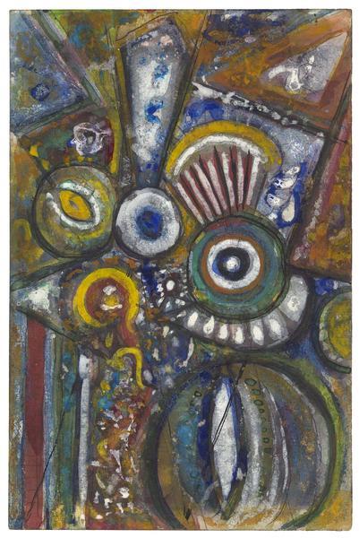 Universe, c.1944 gouache, watercolor and graphite...
