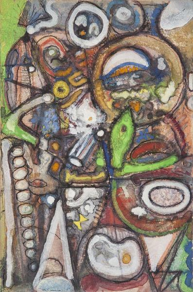 Richard Pousette-Dart (1916-1992) Untitled, c.1944...