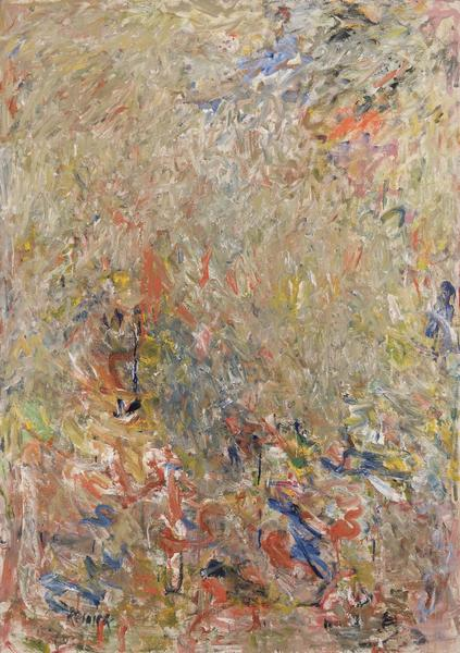 Milton Resnick (1917-2004) Show, 1960 oil on canva...