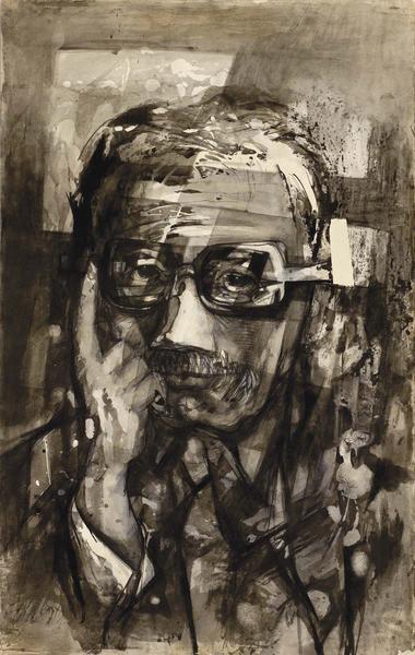 Theodore Roszak (1907-1981) Self-Portrait, 1962 in...