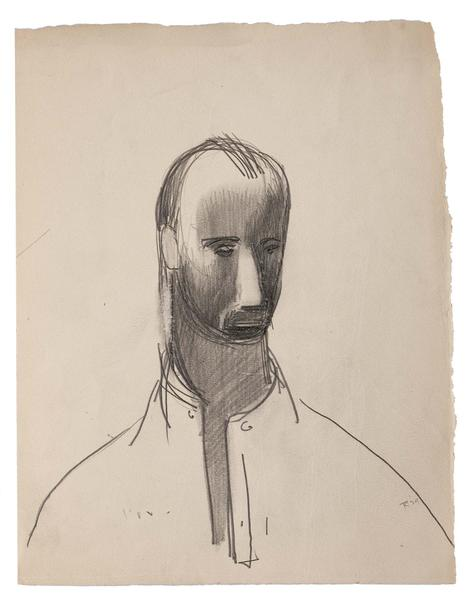 Theodore Roszak (1907-1981) Self-Portrait, 1929 gr...
