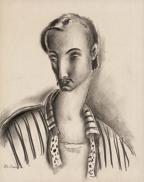 Theodore Roszak (1907-1981) Self-Portrait, c.1929...