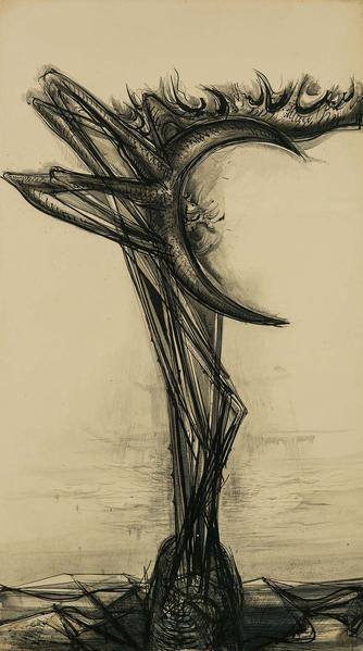 Theodore Roszak (1907-1981) Untitled (Guardian of...
