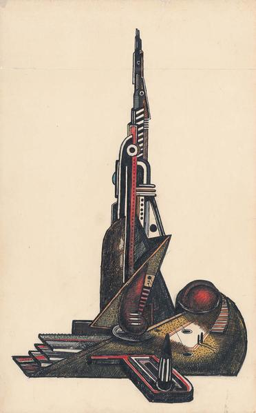 Theodore Roszak (1907-1981) Untitled, c.1932 ink a...