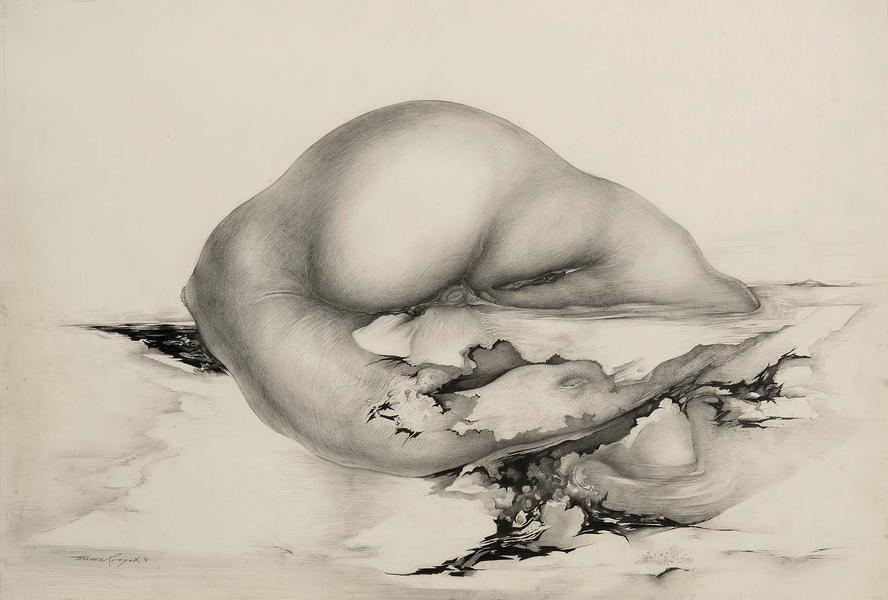 Theodore Roszak (1907-1981 Untitled, 1975 graphite...