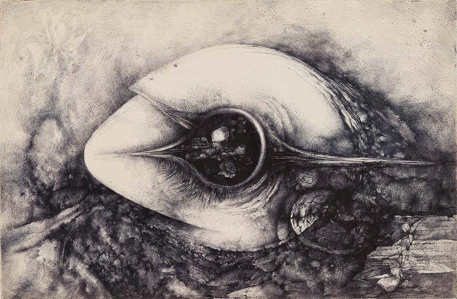 Theodore Roszak (1907-1981) Untitled, c.1972 ink,...