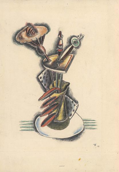 Theodore Roszak (1907-1981) Untitled, 1932 graphit...