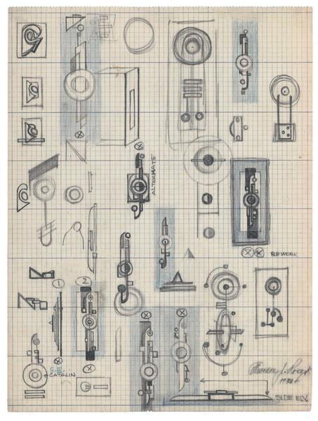 Theodore Roszak (1907-1981) Untitled (Study for Co...