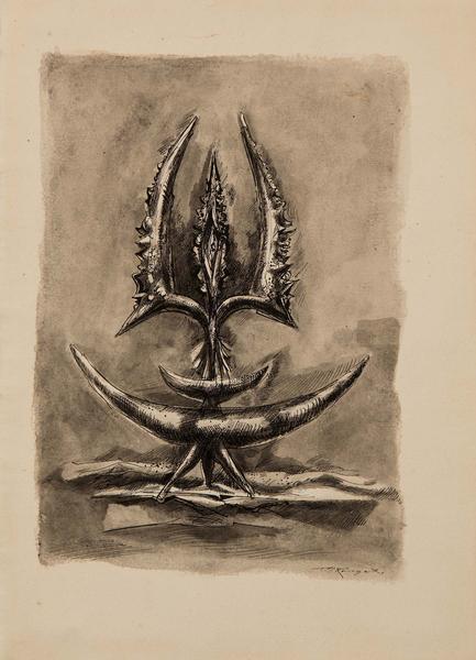 Theodore Roszak (1907-1981) Untitled (Study for Pr...