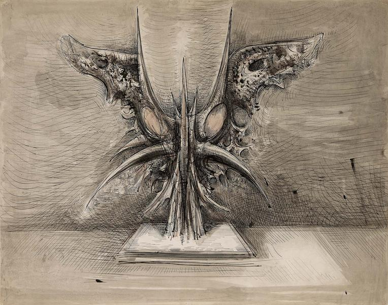 Theodore Roszak (1907-1981) Untitled (Study for Th...