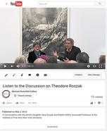 Listen to the Discussion on Theodore Roszak