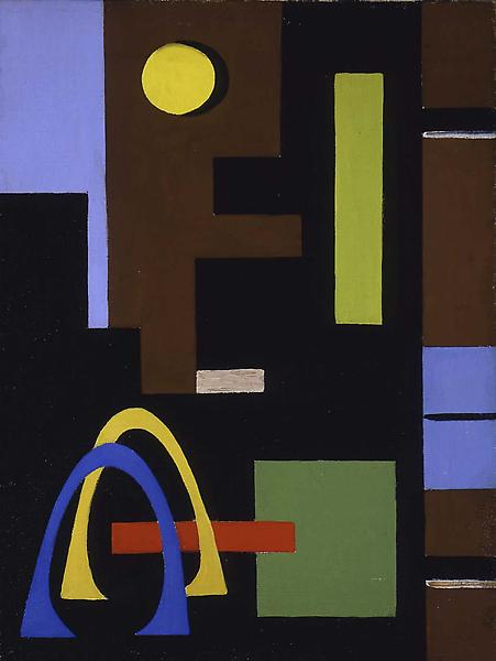 """Untitled, c.1938 oil on canvasboard 16"""" x 12"""" &nbs..."""