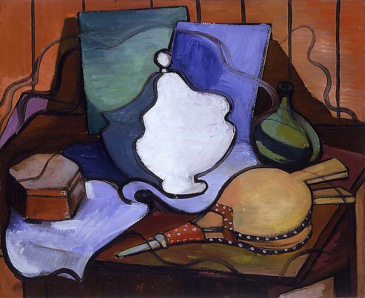 """Untitled, c.1930 oil on canvas 23 1/2"""" x 29"""" &nbsp..."""