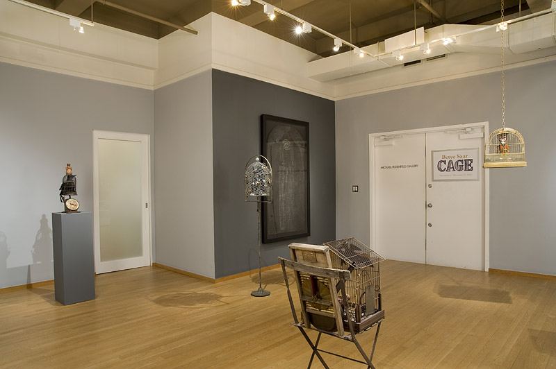 Betye Saar: CAGE, A New Series of Assemblages and Collages - Exhibitions