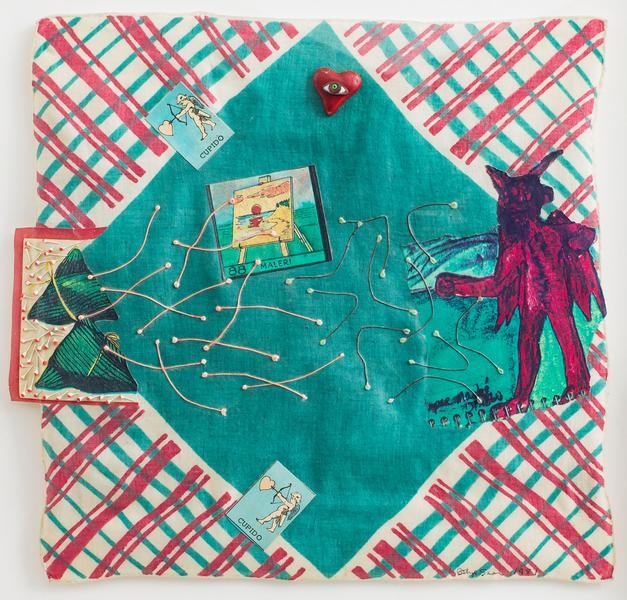 Betye Saar (b.1926) El Diablito, 1981 mixed media...