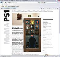 Betye Saar in Now Dig This! at MoMA-PS1