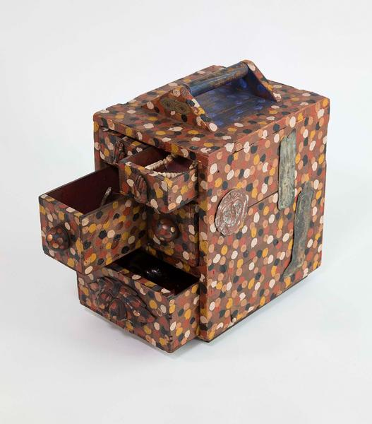 Betye Saar (b.1926) Personae, 1993 mixed media box...