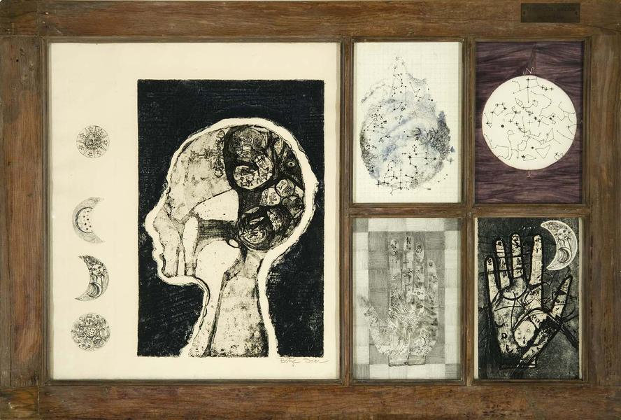Betye Saar (b.1926) The Mystic Window #1, 1965 ass...