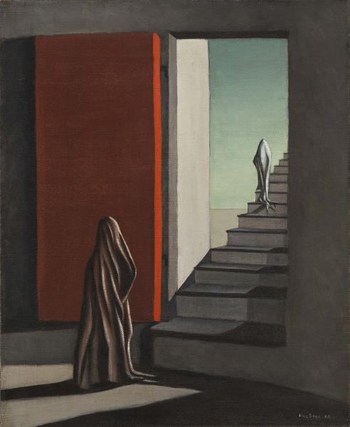 Kay Sage (1898-1963) The Fourteen Daggers, 1942 oi...