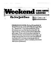The New York Times, April 9, 1999