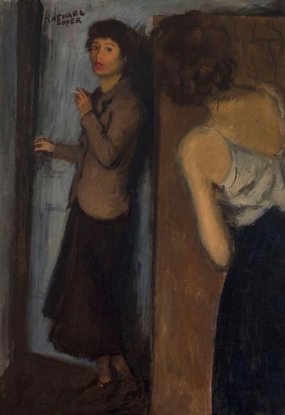 Raphael Soyer (1899-1987) Roommates, c.1934 oil on...