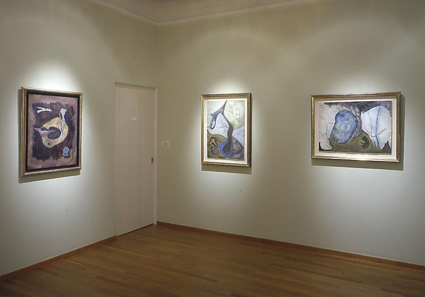 Installation Views - Theodoros Stamos: Allegories of Nature, Organic Abstraction 1945-1949 - November 8, 2001 – January 12, 2002 - Exhibitions