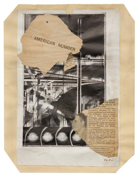 Joseph Stella (1877-1946) Macchina Naturale #18, c...